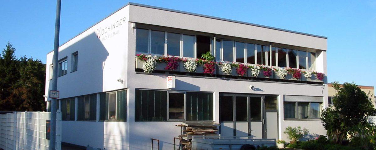 Wochinger Metallbau Firmengebäude